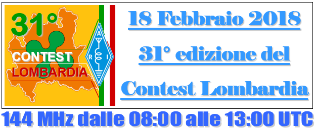 BANNER CONTEST LOMBARDIA 2017